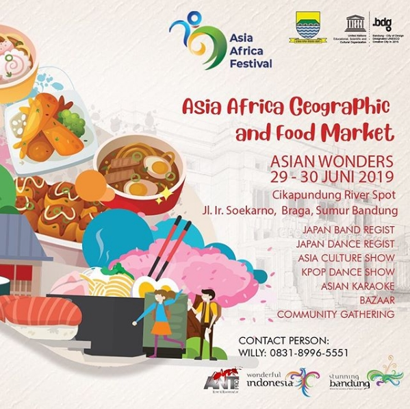 Asia Africa Geographic and Food Market