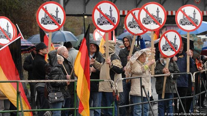 Demo Anti Masjid di Jerman