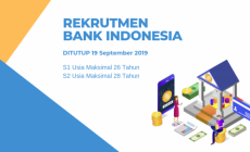 Permalink to Bank Indonesia Buka Loker Pegawai, Batas Akhir 19 September